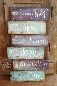 Schilder aus Holz / Metall – foto atelier schmid – Barcelona Signs made of wood / metal – foto atelier schmid – Metal Signs, Wood Signs, Bois Diy, Made Of Wood, Plexus Products, Wood And Metal, Home Deco, Decoration, Wood Projects