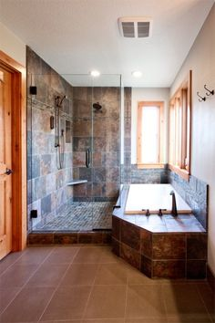 I love a big bathroom:)