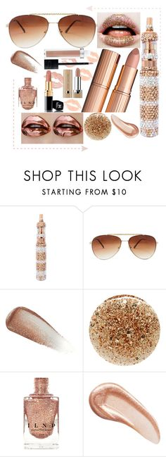 """""""Copper"""" by crystalcult on Polyvore featuring beauty, Yves Saint Laurent, JINsoon, Charlotte Tilbury and thecrystalcult"""