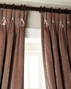 Misti Thomas Modern Luxuries Velvet Curtain with Asfour Crystals 6009 Parker 108 L Velvet Curtain with Asfour Crystals Yellow Curtains, Drop Cloth Curtains, Pleated Curtains, Burlap Curtains, Velvet Curtains, Curtains With Blinds, Valances, Office Curtains, Damask Curtains