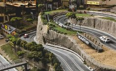 David Beattie Makes the World's Most Extravagant and Realistic Slot-Car Tracks - Slide 30