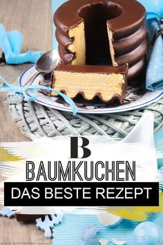 Baumkuchen: Unser Rezept für den Klassiker Baumkuchen: Our recipe for the classic. You love Baumkuchen, but do not know if he succeeds you at home? That's guaranteed with our recipes. So you bake Baumkuchen like a pro! Winter Desserts, Christmas Desserts, Christmas Baking, Pastry Recipes, Cake Recipes, Dessert Recipes, Tree Cakes, Cake Mold, Food Cakes