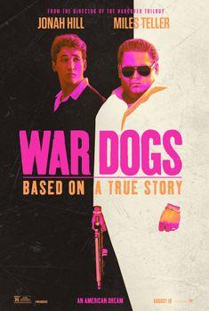 """WAR DOGS (2016)                                           """"War Dogs"""" erzählt die Geschichte von zwei Freunden Anfang 20, die während des Irak-Kriegs in Miami Beach leben und eine wenig bekannte staatliche Regelung ausnutzen, nach der sich auch kleine Firmen um amerikanische Rüstungsaufträge bewerben dürfen."""