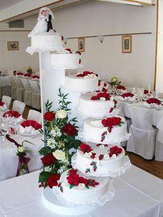 Luxury Wedding Cake, Floral Wedding Cakes, Amazing Wedding Cakes, Wedding Cake Stands, Wedding Cake Decorations, Elegant Wedding Cakes, Unique Wedding Cakes, Wedding Cake Designs, Elegant Cakes