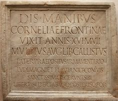 Resultado de imagen para carved letter on stone memorial In Ancient Times, Ancient Rome, Ancient History, Gladiators, Stone Sculpture, Stone Carving, Roman Empire, Les Oeuvres, History