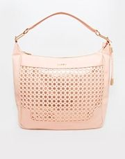 Lipsy Circle Cut Out Slouch Hobo