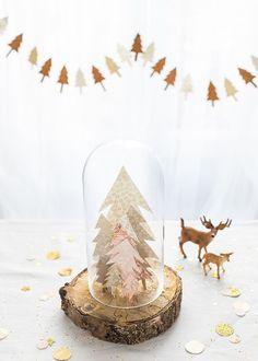 Van origami tot simpele houten vormpjes en leuke DIY's. We serveren je een inspirerend 5 gangen menu van kerstdecoratie.