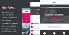 Nunforest - Multipurpose html template