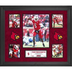 Teddy Bridgewater Louisville Cardinals Fanatics Authentic Framed 5-Photograph Collage