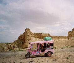 Crossing China in a Pink Tuk Tuk