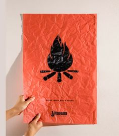 Fire - sound poster