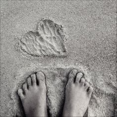 nothing like sand between the toes....
