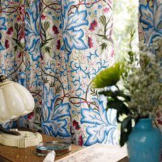 カーテン・椅子張り・輸入壁紙・ラグ MANAS | マナトレーディング | William Morris ウィリアム・モリス | WOODLAND EMBROIDERIES