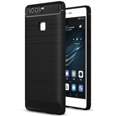 >> Click to Buy << For Huawei P9 Case Silicone Luxury Rugged Armor Shockproof Phone Case For Huawei Ascend P9 Back Cover Protector Fundas Coque #Affiliate