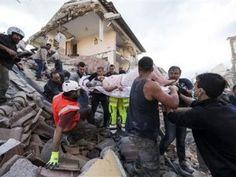 Fuerte sismo sacude centro de Italia, al menos 37 muertos