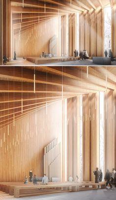 Join buildyful.com - the global place for architecture students.~~hatlehol church be Konrad Wójcik