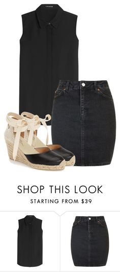 """Sin título #152"" by lavandar ❤ liked on Polyvore featuring Theory, Topshop and Soludos"