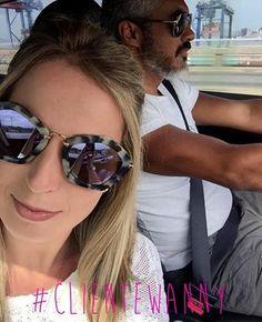 Quem já está na estrada para aproveitar o feriado? 🚗🚕🚙 #Repost @madamecarlota ・・・ My favorite driver ❤️ #lifestyle #madamecarlota #blogmadamecarlota #errejota #carfie #maridao #ootd #followthesun #clientewanny