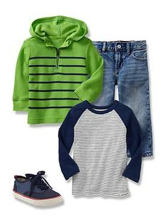 Baby Clothing: Toddler Boy Clothing: Featured Outfits Ready, Set, Outfit | Gap