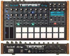 Tempest Drum 80's looking drum machine