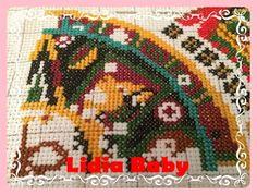 Reto calendario azteca | Punto de cruz - Bordando con Lidia