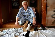 Naoto Matsumara is the only human brave enough to live in Fukushima's 12.5-mile exclusion zone - What an amazing human being.  A true Saint.  Putting the needful animals before his own well being. Totally touched my heart!