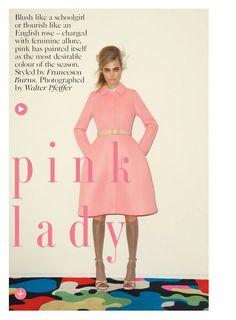 Cara Delevingne for Vogue UK September 2013