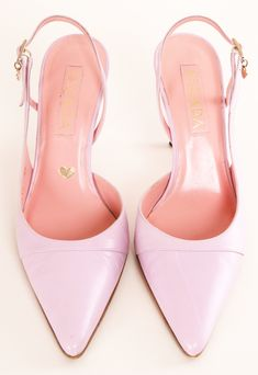 Pretty in pink Escada Heels