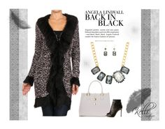 BACK IN BLACK by kelli-couture on Polyvore featuring Gianvito Rossi and H&M