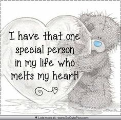 "♡ ""I have that one special person in my life who melts my heart! Hugs And Kisses Quotes, Hug Quotes, Love Quotes, Tatty Teddy, Teddy Bear Quotes, Teddy Bear Pictures, Teddy Images, Blue Nose Friends, Love Bear"