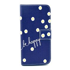 iPhone 6 Plus/6S Plus Case, Firefish Folio Flip Premium PU Leather Lovely Wallet Shell [Scratch-resistant][Kickstand][Card Holder] for Apple iPhone 6 Plus/6S Plus+ One Stylus-B-daisy, 2016 Amazon Hot New Releases Range Hoods  #Appliances