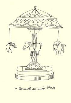 Karussell der müden Pferde - Mehrdad Zaeri