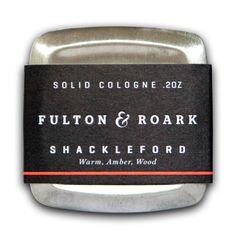 Fulton & Roark Solid Cologne, Shackleford – $42