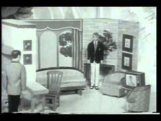 1960 Barbie Dream House Commercial , wow, I played with the barbie, Midge and Skipper in the tube.