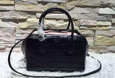 prada crocodile inside out bag black 2016 prada handbags