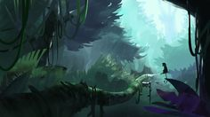 Dense Forest by zbleeeh