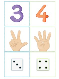 Body Preschool, Numbers Preschool, Learning Numbers, Math Numbers, Preschool Classroom, Kindergarten Math, Teaching Math, Homeschool Preschool Curriculum, Montessori Math