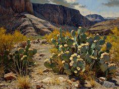Desert Spring by Mark Haworth Oil ~ 36 x 48