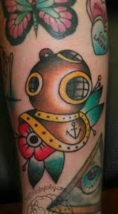 diving helmet tattoo - Google Search