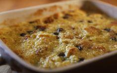 The Dearborn Inn's bread pudding