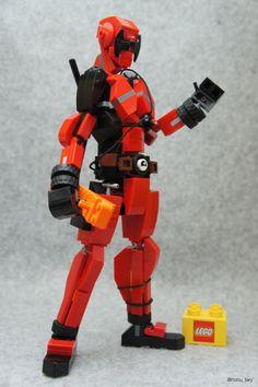 Deadpool by nobu_tary http://flic.kr/p/DEABvg