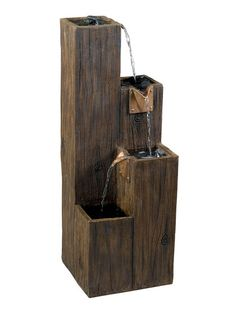 Serene Forest Indoor/Outdoor Fountain by Design Craft at Gilt