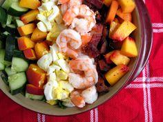 #paleo End of Summer Cobb Salad