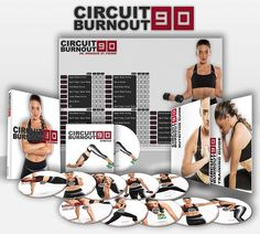 CIRCUIT BURNOUT 90 Day DVD Workout Program with 10 1 Exercise Videos Training Calendar, Fitness Tracker &Training Guide and Nutrition Plan * You can find more details by visiting the image link. (This is an affiliate link) 30 Day Fitness, Zumba Fitness, Health Fitness, Shape Fitness, Physical Fitness, Workout Videos, Exercise Videos, Exercise Bands, Workout Dvds