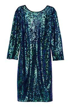 Robe à paillettes | H&M