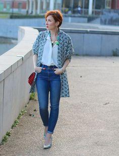 Le blazer imprimé - Slanelle Style - Blog mode, voyage, musique, beauté - Paris
