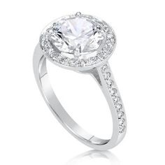 2.5 CT Round Cut D/SI1 Diamond Solitaire Engagement Ring 14k White Gold 258486 - EXCLUSIVE DEAL! BUY NOW ONLY $3600.0
