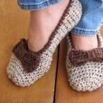 Adult Slippers Crochet Patt..
