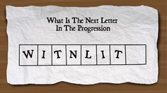 You must find the missing letter in the escape room clue to solve the next puzzle and escape the room.