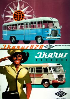 Vintage Aircraft – The Major Attractions Of Air Festivals - Popular Vintage Retro Bus, Vintage Boats, Retro Vintage, Vintage Dress, Retro Advertising, Vintage Advertisements, Dj Yoda, Bus Art, Restaurant Pictures